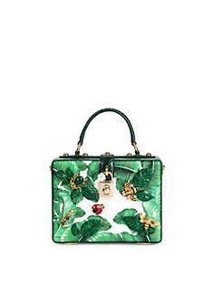 9143a4cb6c Dolce   Gabbana - Tropical Box Bag Leather Box