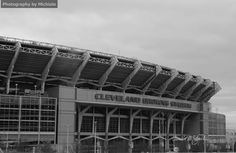 Cleveland Browns Stadium          http://www.etsy.com/shop/Michiale