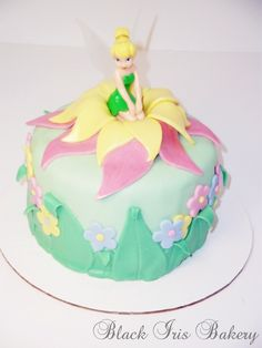 Southern Blue Celebrations: More Tinkerbell ~ Pirate Fairy Cakes