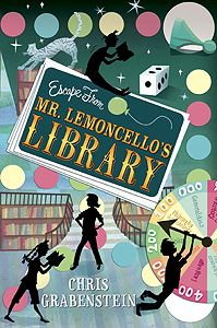 Children's Book Committee November 2013 Pick: ESCAPE FROM MR. LEMONCELLO'S LIBRARY by Chris Grabenstein (Random House, 2013)