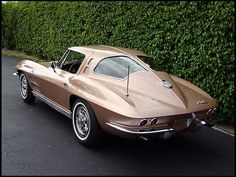 1963 vette split window