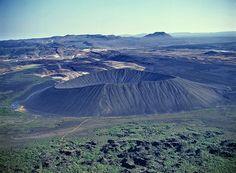 Hverfell crater at Mývatn