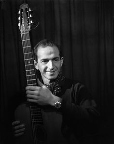 Émile Savitry - Henri Crolla, guitar-player, author and composer, Paris, no date