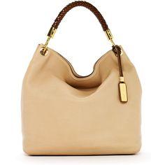 Michael Kors Skorpios Large Shoulder Bag ($895) ❤ liked on Polyvore
