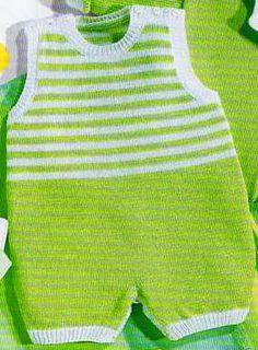 plusieurs modèles de tricots bébé