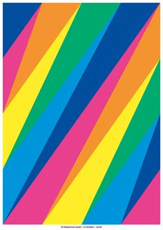 Print by Dries Wiewauters inspired by an old Eddy Merckx jersey Graphic Design Typography, Graphic Design Art, Rainbow Quilt, Graphic Design Pattern, Rainbow Wallpaper, Crazy Colour, Graphic Illustration, Illustrations, Layout