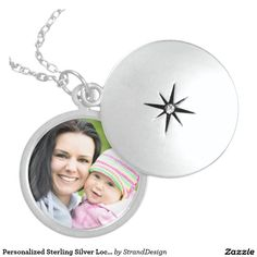 Personalized Sterling Silver Locket