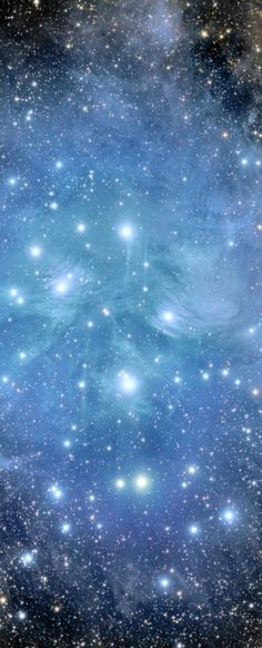 #Pleiades #M45 #Cluster. High resolution (1920x1080) wallpaper of this image available at http://www.mindblowingpicture.com/wallpaper/space/wpgepdxu.html