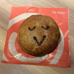 A cute and kawaii veggie pie from Pie Face in Tokyo!