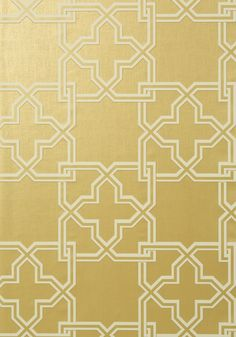 PIERSON, Metallic Gold, T35133, Collection Graphic Resource from Thibaut