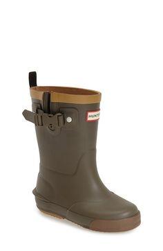 Hunter 'Davison' Rain Boot (Toddler) available at #Nordstrom