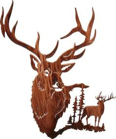 Elk Summit Metal Wall Art : Cabela's