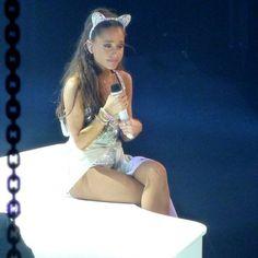 Ariana Grande Brasil, Ariana Grande Cute, Ariana Grande Pictures, Ariana Grande Dangerous Woman Tour, Ariana Tour, White Outfits, Harry Styles, Wonder Woman, Tours