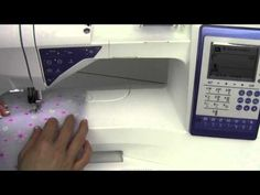 Free motion quilting on viking sewing machine