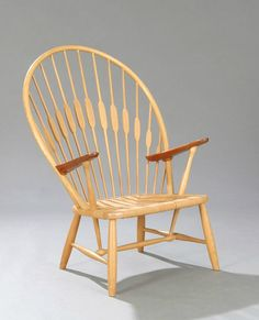Hans J. Wegner: Peacock stoel. Larsenwatches.com