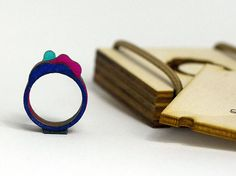 Unique Wooden Jewelry Perfect Gift Creative Jewelry by WoodsyS