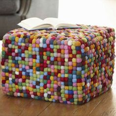 Puffball Pouf    Daily Find
