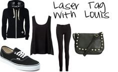 Laser tag with Louis