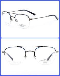 ( collection optique 2018 19 ) cadre Super léger en aluminium, confortable,  simple et raffinée 👓 Matière   métal Réf model   60039M Couleur   bleu 6a6298480f48