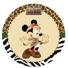Mickey e Minnie Safari – Kit digital gratuito – Inspire sua Festa ®