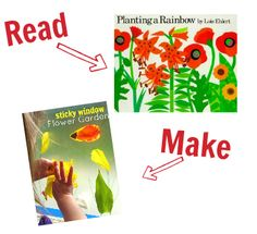 Crafts: No time for Flash Cards blog. Read this, Make that. Crafts to go along with pre-school books.
