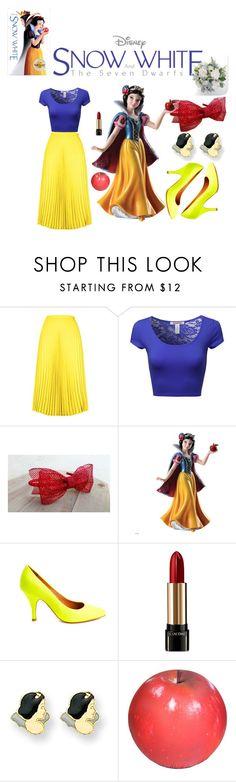 """Untitled #40"" by rizka-amalia ❤ liked on Polyvore featuring HotSquash, Disney, Jeffrey Campbell, Lancôme, Kevin Jewelers, Baleri Italia, women's clothing, women's fashion, women and female"