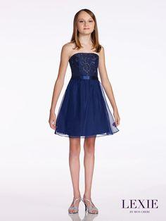 a291b04eac Lexie by Mon Cheri TW11673 Middle School Graduation Dress