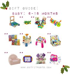 outfit post – gift guide: babies and toddlers Gift Guide, Sprinkles, Baby Shower Gifts, Toddlers, Babies, Outfit, 18 Months, Christmas, Campaign