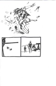 ashley wood metal gear solid Comic Art