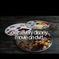 If I can ever get Lanie to watch something other than Lion King. Lol