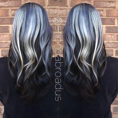 HOW-TO: Ice Princess - Featuring Shades of Blue and Silver Highlights | Modern Salon