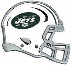 New York Jets Helmet Auto Emblem