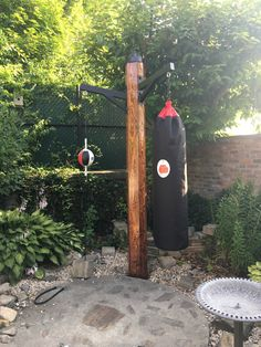 Customers are sharing, special thanks to Joe👏 Backyard Gym, Backyard Playground, Backyard Projects, Outdoor Projects, Backyard Obstacle Course, Home Gym Garage, Diy Home Gym, Gym Room At Home, Crossfit Garage Gym