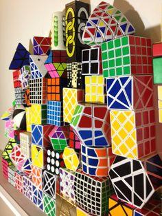 Rubik's Cube Collection  https://www.youtube.com/user/Kitslam