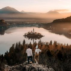 Travel goals - Lake Bled #Regram via @www.instagram.com/p/B-Up3fVBeeE/