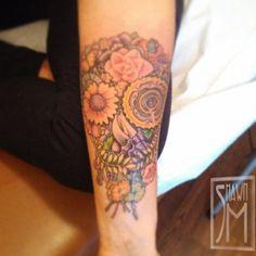 Tattoo By Shawn Mahaffey of Side Show Studios in Sacramento, Ca