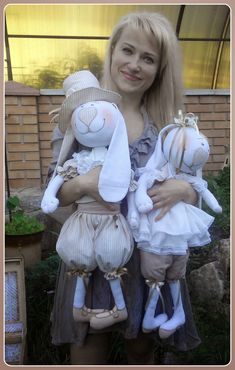 Блог о текстильных интерьерных игрушках и куклах.