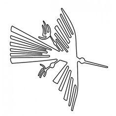 condor nazca line... great tattoo outline!!! might do this ASAP