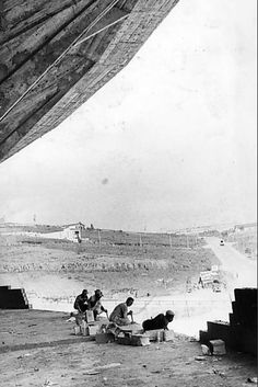 Pausa pra descanso na construção do Morumbi.  (Source: Wender Peixoto retweeted by ArquibancadaTricolor)