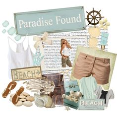 Paradise Found, created by jacque-reid on Polyvore