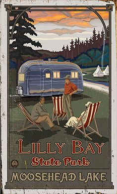 Northwest Art Mall x Poster Canyon Village Yellowstone by Paul A. Retro Poster, Old Poster, Poster Art, Print Poster, Poster Vintage, Vintage Airstream, Vintage Travel Trailers, Vintage Travel Posters, Vintage Campers