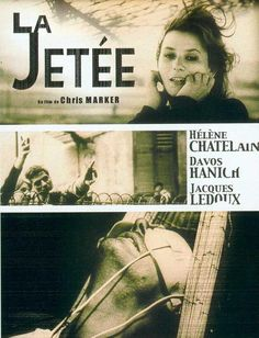 La Jetée is perhaps my favourite science fiction film. We were shown this remarkable film in college, and it always stuck with me. I was tickled that it's been restored and released on DVD. Davos, Cinema Posters, Film Posters, Art Posters, Science Fiction, Fiction Film, Cinema Video, Sci Fi Shorts, 12 Monkeys