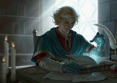m Wizard sage Library urban story Loreseeker by chazillah on DeviantArt Fantasy Story, Fantasy Male, High Fantasy, Fantasy Rpg, Medieval Fantasy, Fantasy Artwork, Fantasy World, Fantasy Magician, Character Concept