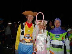 Disney Princess 1/2 Marathon MEN costumes. Woody & Buzz
