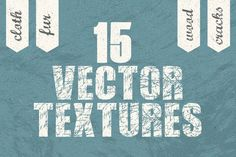 15 Vector textures by Kelly Reed on Creative Market