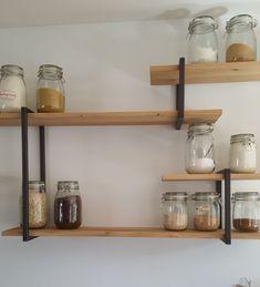 Student Room, Diy Hacks, Floating Shelves, Kitchen Decor, Sweet Home, Indoor, Storage, Interior, Inspiration