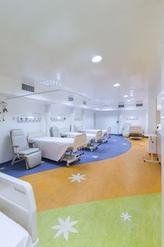 Hospital Pequeno Anjo, Recovery room for children   Brazil