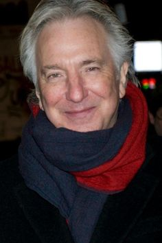 """This photo was taken sometime during the time Alan Rickman was in the Broadway play """"Seminar."""" -- Alan Rickman played Leonard in """"Seminar"""" from November 20, 2011 to May 31, 2012."""