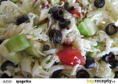Italský salát recept - TopRecepty.cz Fruit Salad, Food, Fruit Salads, Essen, Meals, Yemek, Eten