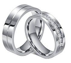 alianzas de boda oro blanco
